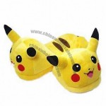 Nintendo Pokemon Pikachu Plush Slippers