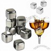 No Melt Reusable Ice Cube, Stainless Steel Ice Cube