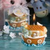 Noah's Ark Baby Shower Candle Favors