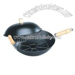 Non-Stick 4pcs Wok Set