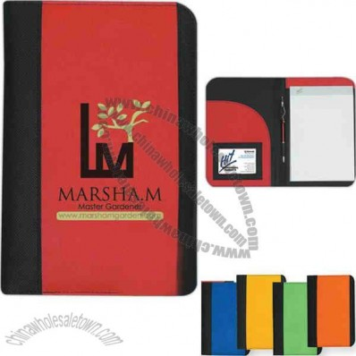 Non Woven Small Padfolio With 5
