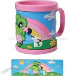 Non toxic and high quality PVC 10 oz. mug