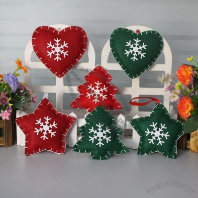 Non-woven Christmas Tree Ornaments