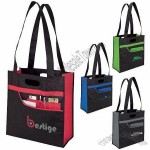 Non-woven Shopper Tote with Front Pocket