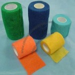 Nonwoven and Cotton Elastic Self-Adhesive Bandage, Flexible and Breathable