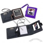 NoteBook Calculator Organizer with Photo Frame