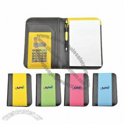 Notepad Folder With Calculator