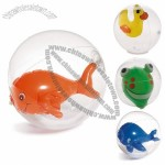Novelty Fun Beach Ball Holiday Swimming Pool - Volley Garden Kids Toy 20cm Animal