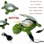 Novelty Funny Turtle 4 Ports USB HUB Ashtray Stiletto For PC Laptop