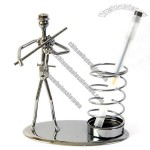Novelty Mettle Metal Crafts Classic Pen Holder