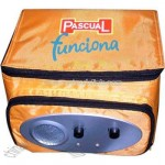 Nylon FM radio cooler bag