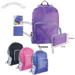 Nylon Foldable Backpack