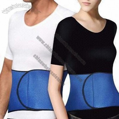 Nylon/Neoprene Women's/Men's Waist Trimmers, Back Support