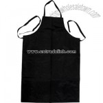 Nylon apron heavy weight reinforced black 41