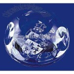 OXFORD LEAD CRYSTAL PAPERWEIGHTS