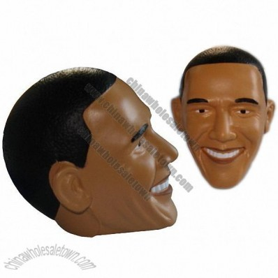 Obama Head Stress Ball