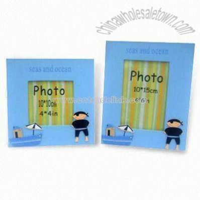 Ocean Design Standing Wooden Photo Frame