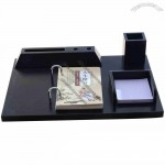 Office Desktop Calendar with Memo, Pen, Name Card Holder