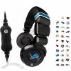 Official Licensed iHip NFL PRO DJ Headphones w/ Mic