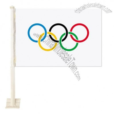 Olympic Games Car Flags-Large