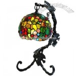 Oma Tiffany Accent Lamp Aged Gold
