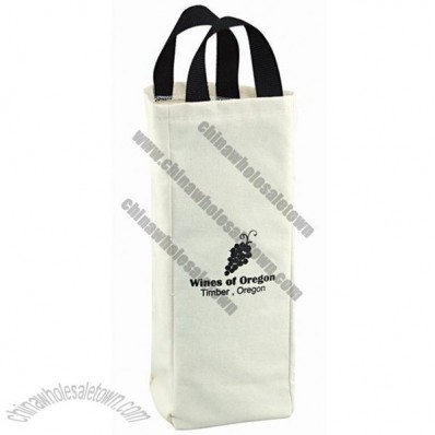 One Bottle Cotton Wine Bag