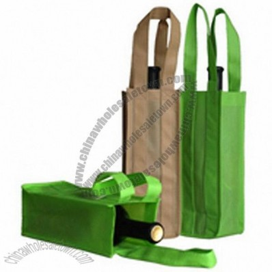 One Bottle Non Woven Wine Bag