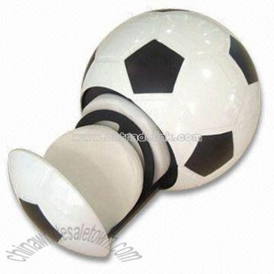 One Touch Football shaped CD Box