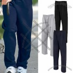 Open Bottom Fleece Custom Sweatpants