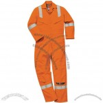 Orange High Visibility Coverall