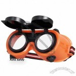 Orange Indirect Ventilation Gas Welding Goggles