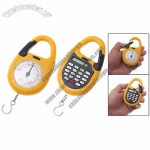 Orange Plastic Pocket Digital LCD Hand Hold Weigh Scale