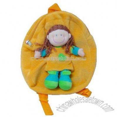Orange Rag Doll Backpack