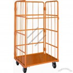 Orange Roll Container