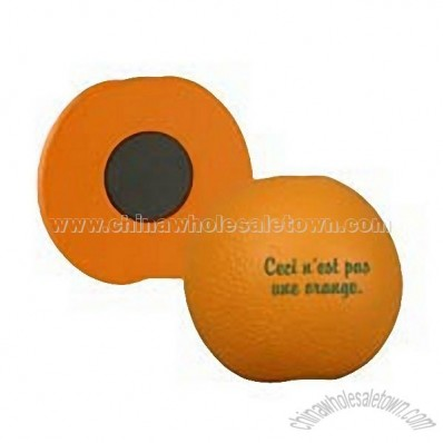 Orange Stress Ball Magnet