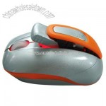 Orange Wireless Mouse