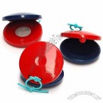 Orff Instruments Child Percusses Toy Wooden Castanet Toy Parent-Child Toys
