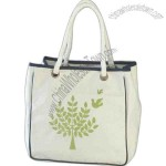 Organic cotton shopping tote bag