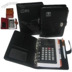 Organizer Agenda Notebook with Calculator and Ball Pen