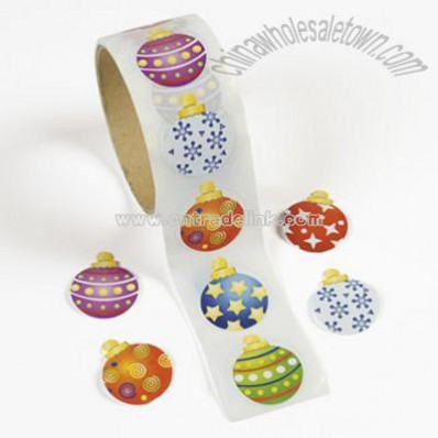 Ornament Roll Stickers