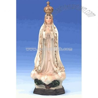 Our Lady of Fatima Florentine Statue (4 inch)