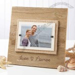 Our Love Personalized Reclaimed Beachwood Frame