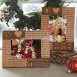 Our Loving Hearts Personalized Frame