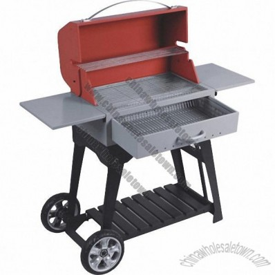 Outdoor Charcoal BBQ Grill