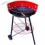 Outdoor Cooking BBQ Charcoal Grill with Wheel