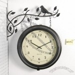 Outdoor Double Side Wall Clock