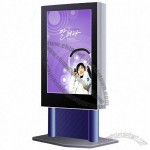 Outdoor scrolling light box