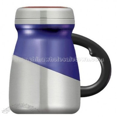 Outer Plastic and Inner Stainless Steel Auto Mug