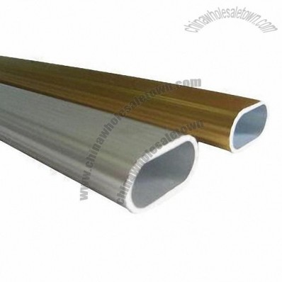 Oval Aluminum Tube (Grade: 1050, 3003, 5052, 5083, 6005, 6061, 6063, 6082 and Others)