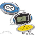 Oval Deluxe Pedometer